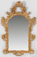 Large Rococo Style Wall Mirror