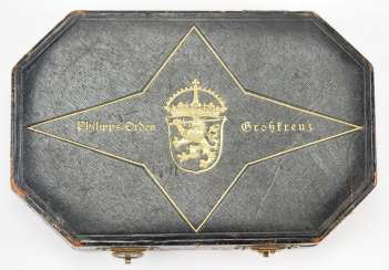 Hesse: large-of the order of Philip the Grand Duke Frank, 2. Model (1849-1918), Grand Cross Of The Case.