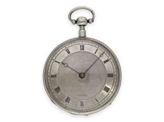Pocket watch: fine Geneva Breguet-type spindle watch with repeater, Francois L'Hardy No. 3714, ca.1820