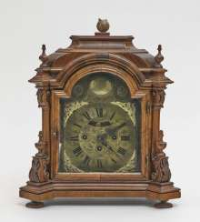 Table clock Raab (Hungary), 18th century, Johann Melchior Unsinn (Unzin)