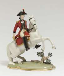 Bernese Dragoons officer on horseback