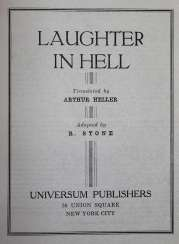 Laughter in Hell.