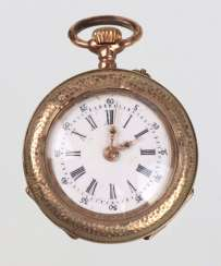 Art Nouveau ladies pocket watch