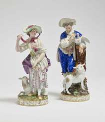 Shepherd and shepherdess