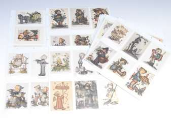 Hummel-view cards, approx 105 PCs.