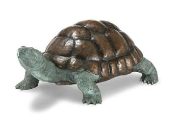 Turtle As A Fountain Figure