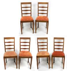 6 chairs 1930s