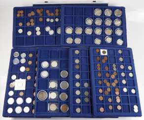 Austria: Collection of small coins.