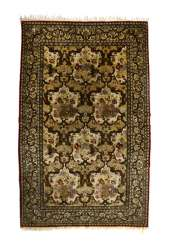 Silk Carpet, Central Persia,