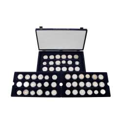 ECU collection II with 54 coins completely equipped,