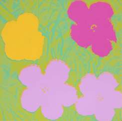 Warhol, Andy 1928 Pittsburgh - 1987 New York. Flowers. 1970