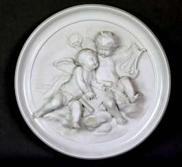 Porcelain relief