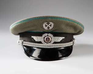 Visor cap for officers