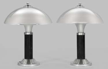 Pair of table lamps in the Art Deco style
