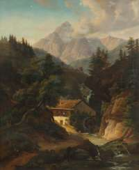 Landscape painter of the 19th century. Century