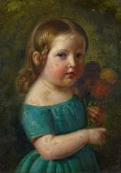 Portrait of the daughter of the artist