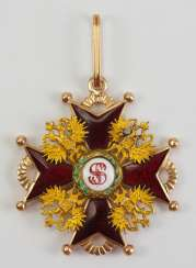 Russia : Imperial and Royal order of Saint Stanislaus, 2. Model, 2. Type (approx. 1841-1917), 2. Class.