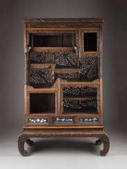 ADD-ON CABINET WITH FLORAL DECOR