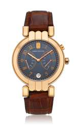 HARRY WINSTON, 18K EXCENTER BI-RETROGRADE, REF. 200-MAB137R