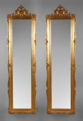 Pair of large wall mirror