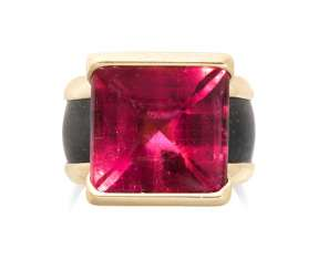 Philippe Pfeiffer Tourmaline-Gabbro-Ring