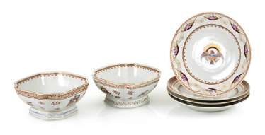 Mixed Lot Of Porcelain, 20th Century,