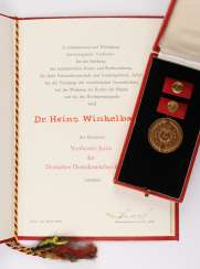 Honored lawyer of the GDR,