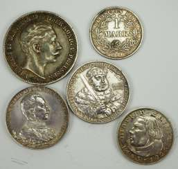 Prussia: 5 coins.