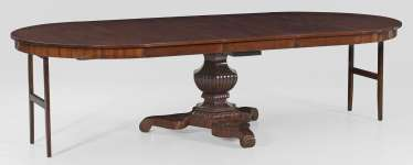 Large Biedermeier Extending Table