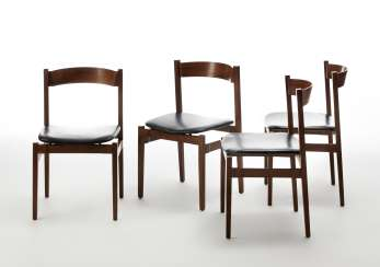 Group of four chairs model