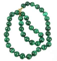 Malachite Ball Chain