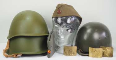 Soviet Union: Solder Headgear.