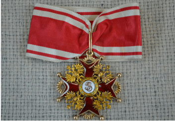 The Order Of St. Stanislaus of the 2nd degree, 56 gold St.