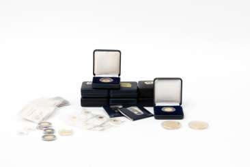 The GOLDEN collection with many mini-gold medals - for example,
