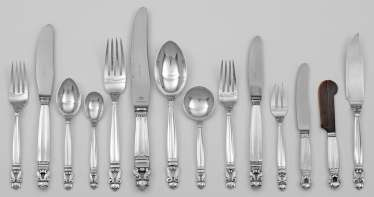 Georg Jensen-The Rest Of The Cutlery