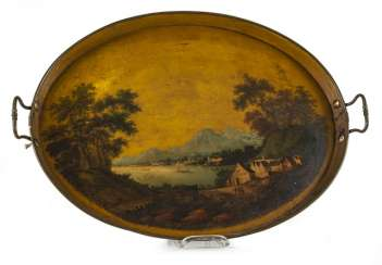 Lacquer Tray, 19th Century. Century