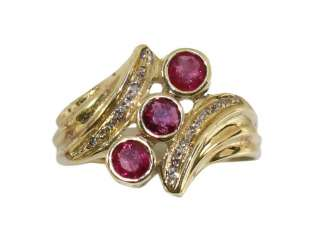 Ruby-Diamond-Ring 585.