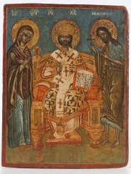 HRIST IN MAJESTY', SURROUNDED BY THE VIRGIN AND SAINT JOHN THE BAPTIST