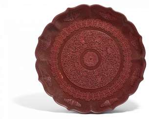 Major Imperial dish with the Eight Buddhist Treasures