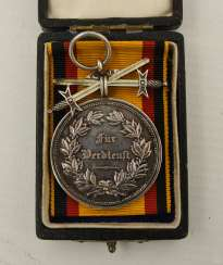 Order of MERIT IN the CASE, the German Empire/Schaumburg - Lippe at the end of 19th century. Century