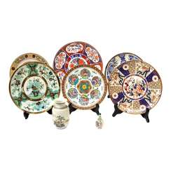 Collection of porcelain: 8-piece CHINA