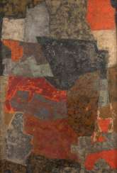 SERGE POLIAKOFF (RADIUS) 1900 Moscow - 1969 Paris. COMPOSITION IN BLUE AND RED