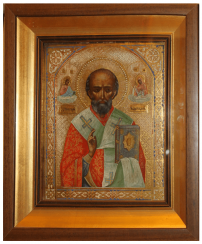 The image of Nicholas the Wonderworker of the nineteenth century