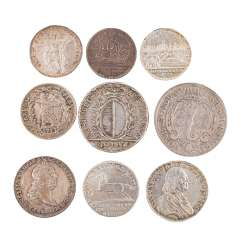 Highly interesting and varied collection of coins, 17. Century. - 19. Century. -