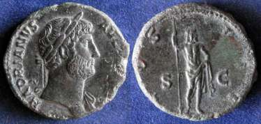 Roman Empire, Hadrian 117-138g