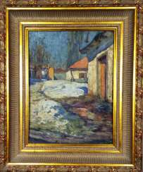 "The Picture Of The ""Yard"". M. A. Dontsov. The twentieth century"