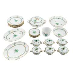 HEREND dinner service for 6 persons, 20. Century