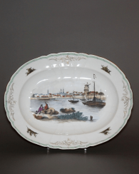 Germany, end of XIX century, the Royal porcelain factory (KRM)