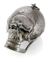Silver Skull Watch, Ref. Geo Schloer fec. Augspurg, around 1670