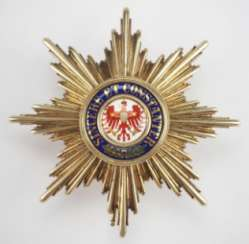 Prussia: Red Eagle Cross Breast Star Medal.
